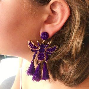 Boho Bee 🐝 Tassel Earrings